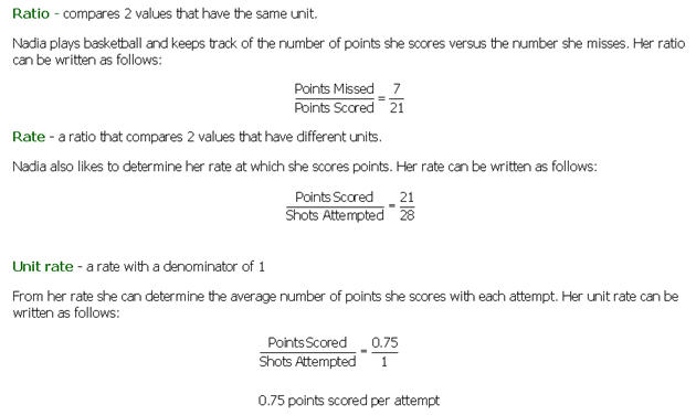 Module 5 Welcome to your Mega Math Team – Unit Rate Word Problems Worksheet